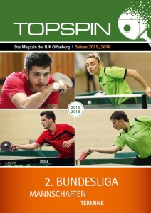 Cover Magazin Topspin 15 16