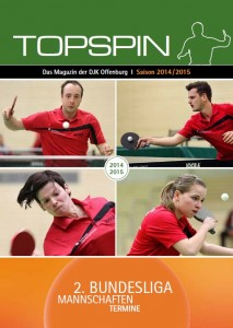 cover magazin topspin 14 15